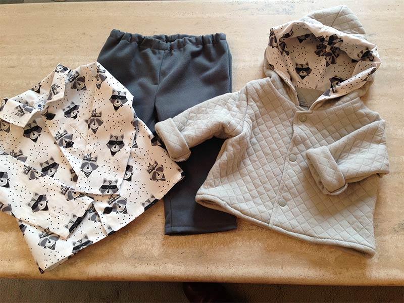 Colette couture création bébé