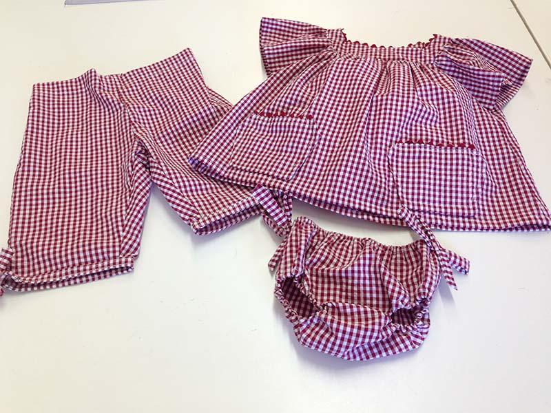 Colette couture création bébé fille