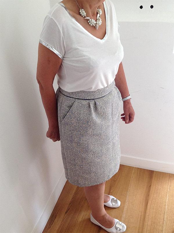 Colette couture création jupe