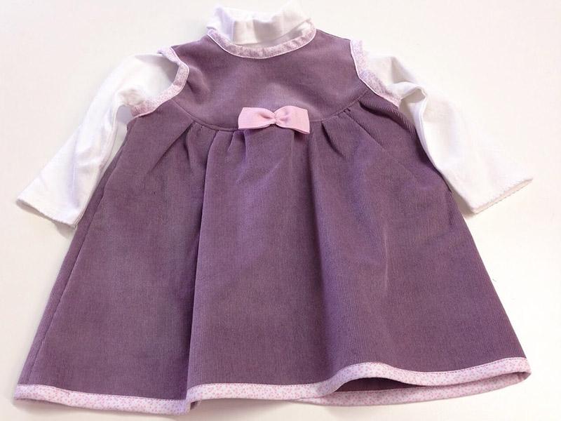 Colette couture création robe bébé