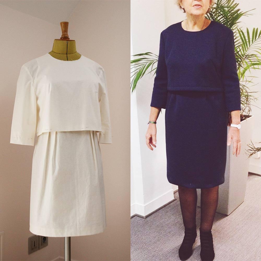 Colette couture création robe et toile d'essai